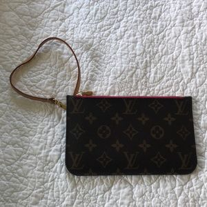 Louis Vuitton mini wristlet